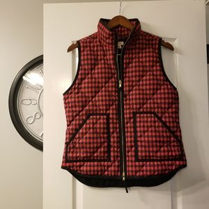 J CREW Quilted puffer vest size S